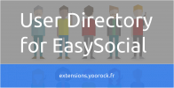 User Directory for EasySocial